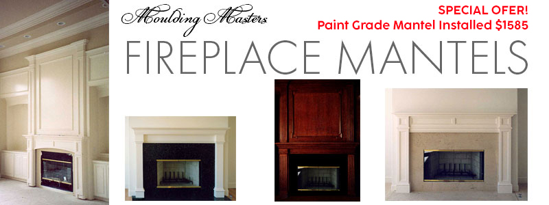 Moulding Masters Fireplace Mantels