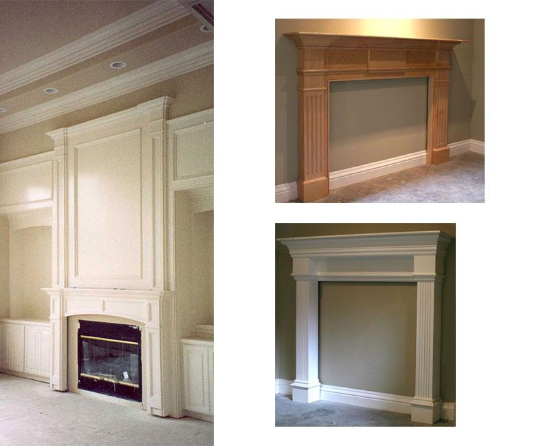 Admirable Fireplace Mantels Interior Design Ideas Clesiryabchikinfo